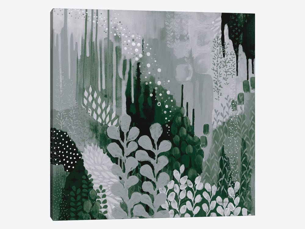 Green Forest II by Kathy Ferguson 1-piece Canvas Print