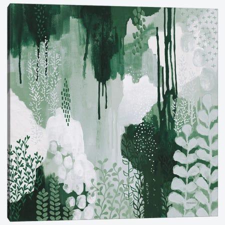 Light Green Forest I Canvas Print #KFE8} by Kathy Ferguson Canvas Art Print
