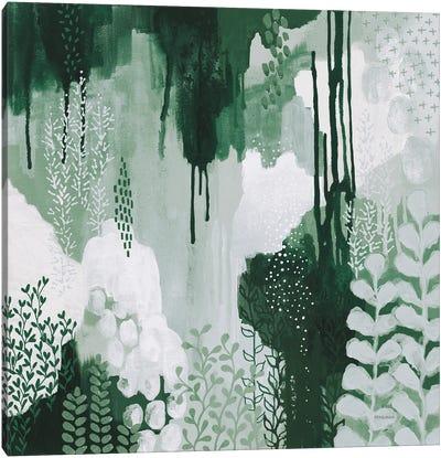 Light Green Forest I Canvas Art Print