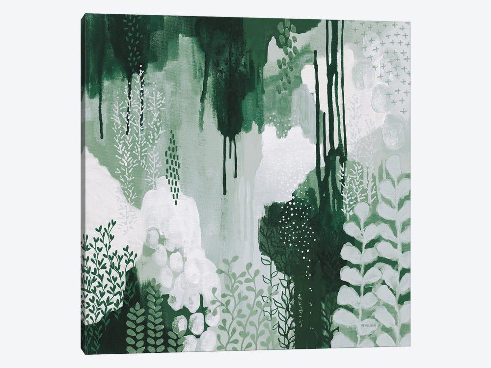 Light Green Forest I by Kathy Ferguson 1-piece Art Print
