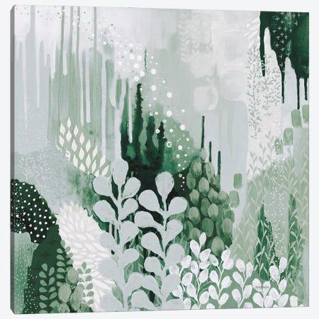 Light Green Forest II Canvas Print #KFE9} by Kathy Ferguson Canvas Art Print