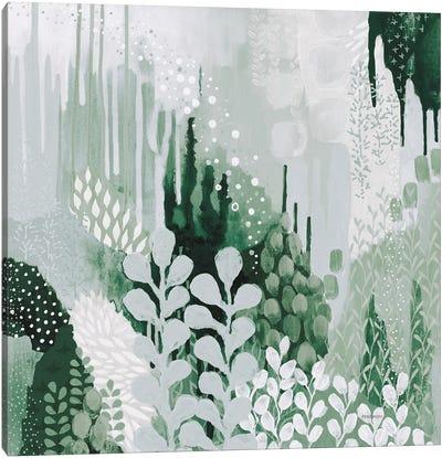 Light Green Forest II Canvas Art Print