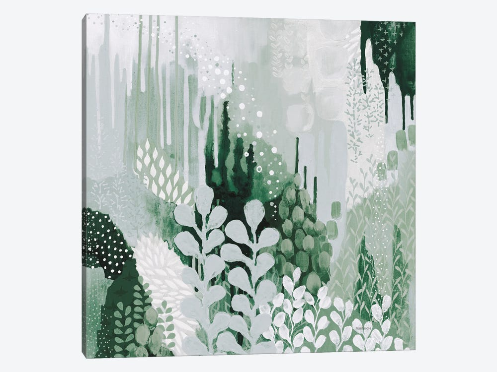 Light Green Forest II by Kathy Ferguson 1-piece Canvas Artwork