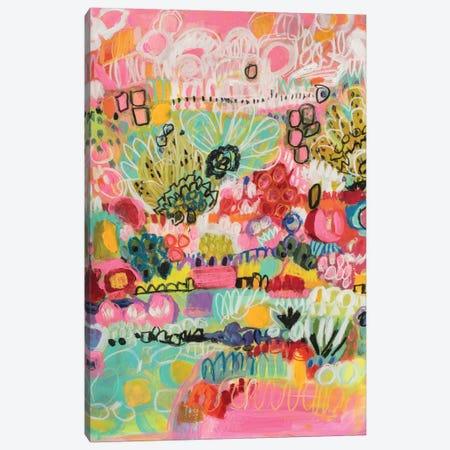 Boho Garden III Canvas Print #KFI10} by Karen Fields Canvas Artwork