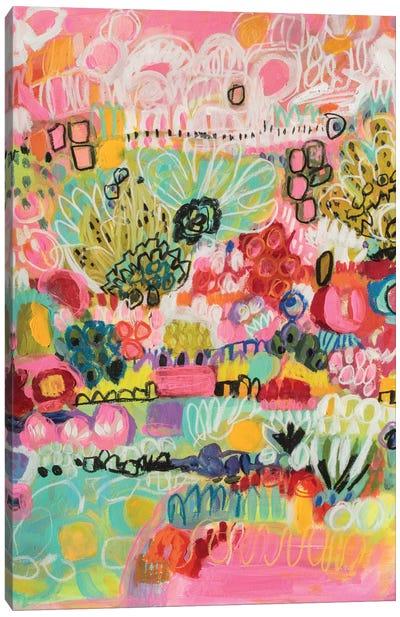 Boho Garden III Canvas Art Print