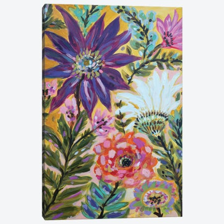 Garden Of Whimsy I Canvas Print #KFI11} by Karen Fields Canvas Art