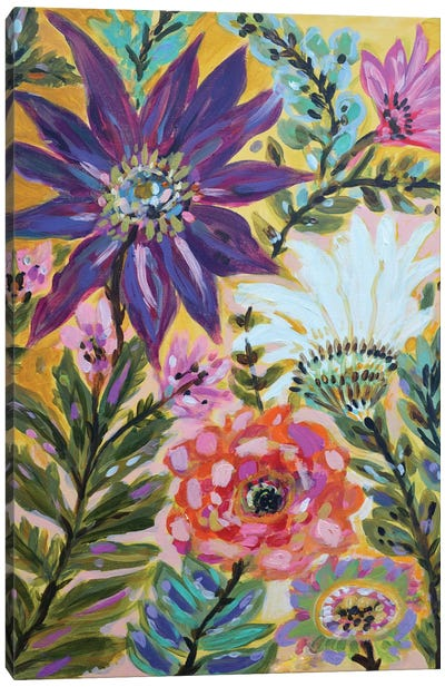 Garden Of Whimsy I Canvas Art Print