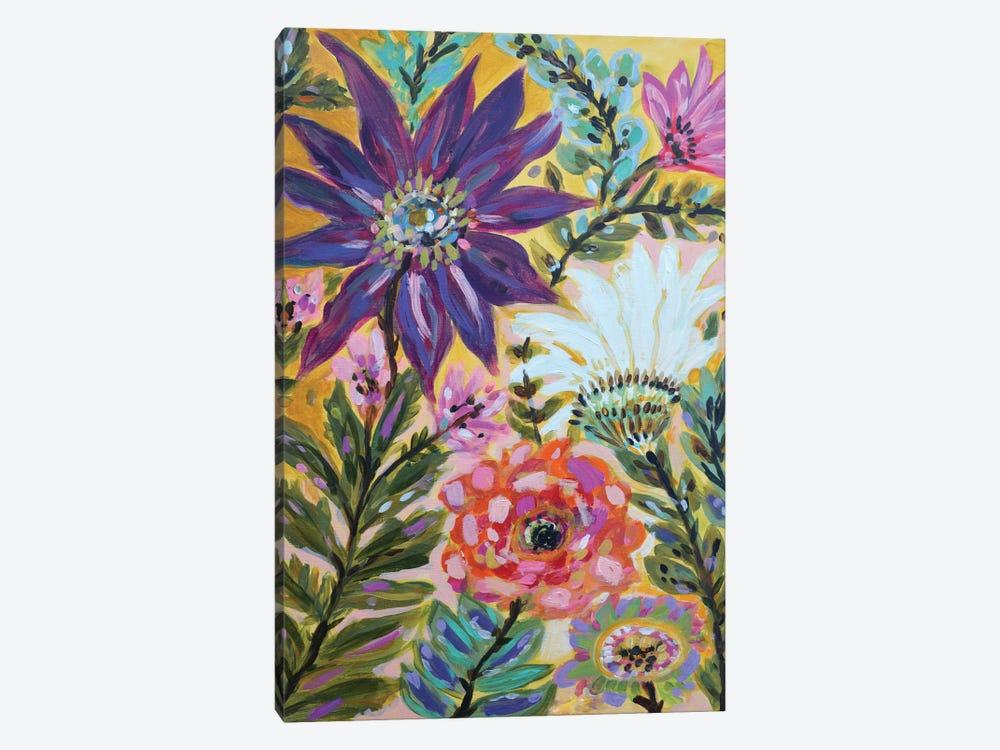 Garden Of Whimsy I by Karen Fields 1-piece Canvas Art
