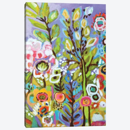 Garden Of Whimsy III Canvas Print #KFI13} by Karen Fields Canvas Wall Art