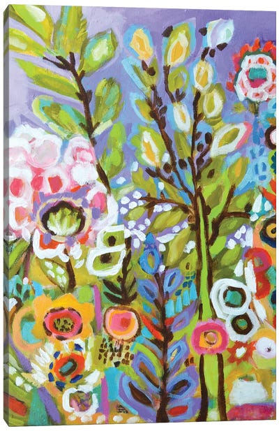 Garden Of Whimsy III Canvas Art Print