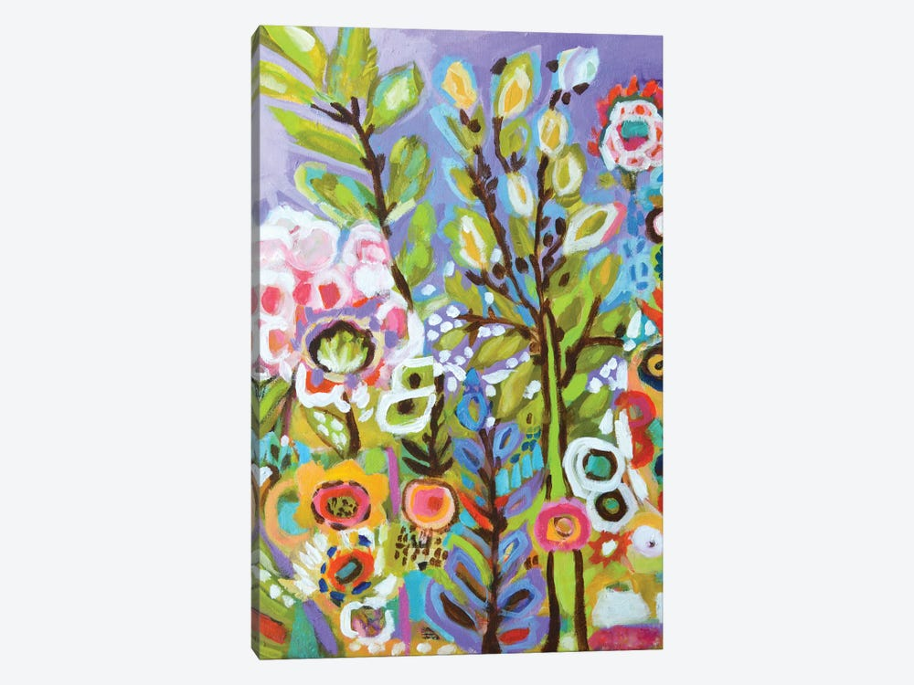 Garden Of Whimsy III by Karen Fields 1-piece Canvas Art