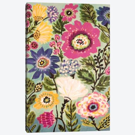 Garden Of Whimsy IV Canvas Print #KFI14} by Karen Fields Art Print