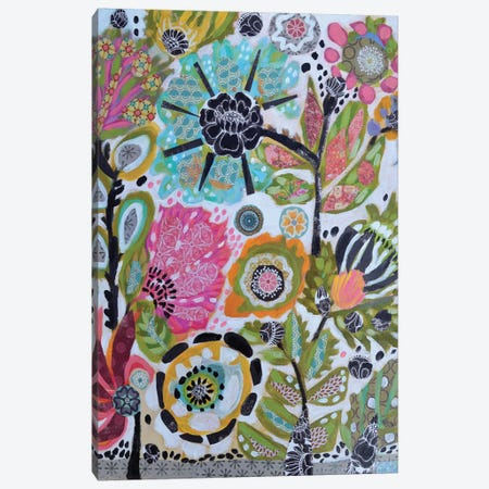 Garden Of Whimsy V Canvas Print #KFI15} by Karen Fields Canvas Art Print