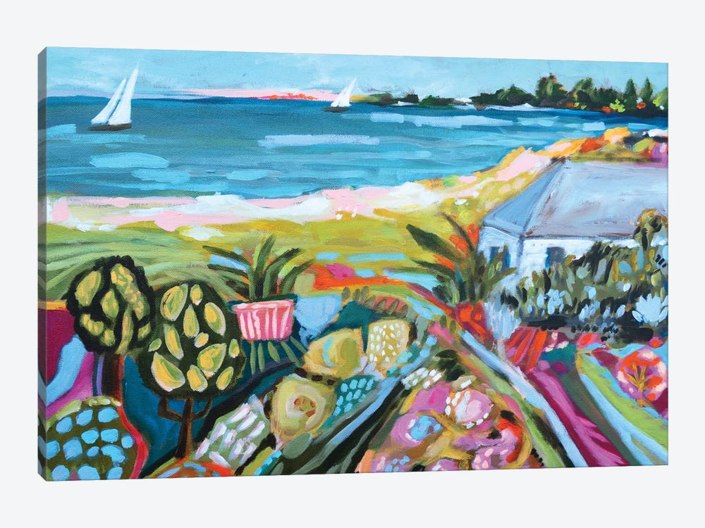 Nautical Whimsy I by Karen Fields 1-piece Canvas Print