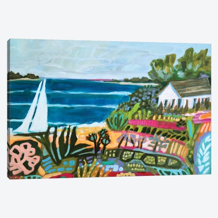 Nautical Whimsy II Canvas Print #KFI17} by Karen Fields Art Print