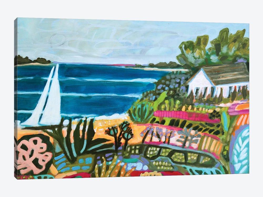 Nautical Whimsy II by Karen Fields 1-piece Canvas Wall Art