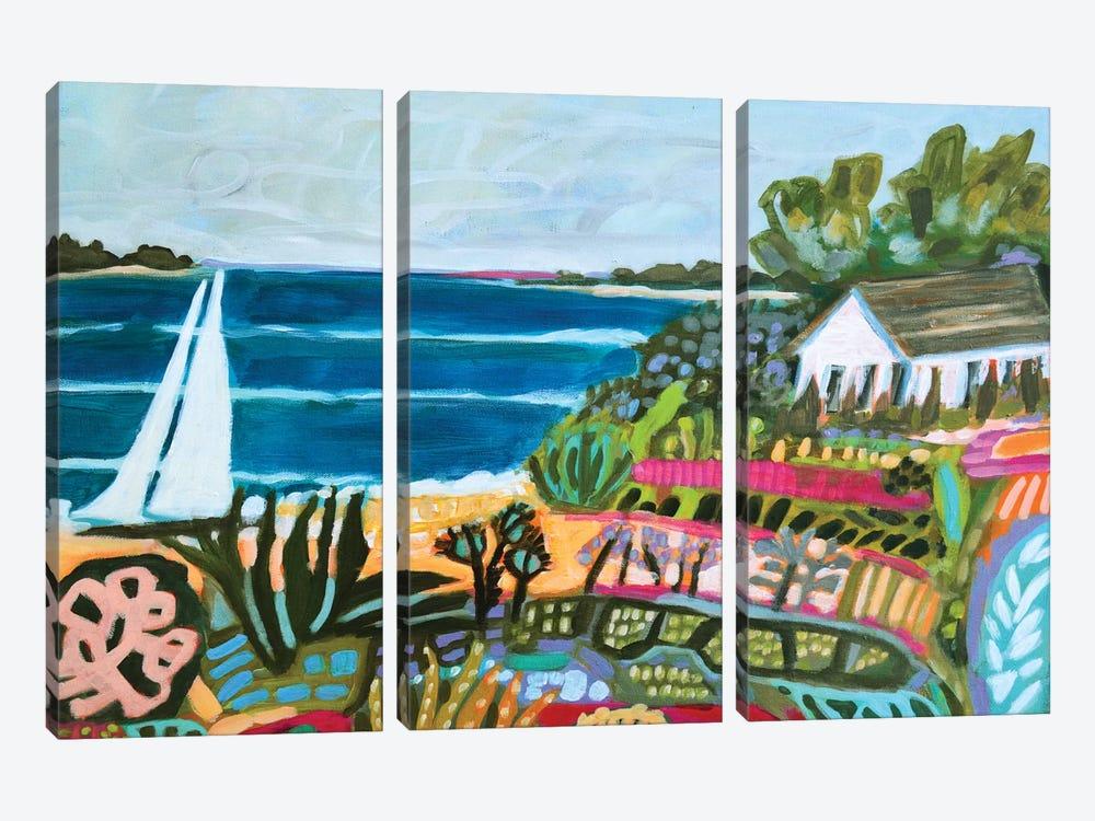 Nautical Whimsy II by Karen Fields 3-piece Canvas Artwork