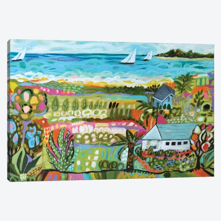 Nautical Whimsy III Canvas Print #KFI18} by Karen Fields Canvas Art