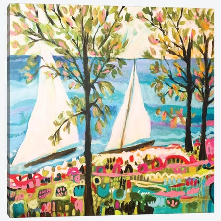 Nautical Whimsy IV Canvas Print #KFI19} by Karen Fields Canvas Art