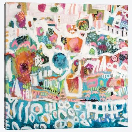 Abstract Marina I Canvas Print #KFI1} by Karen Fields Art Print