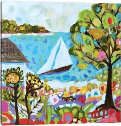 Nautical Whimsy V Canvas Art Print