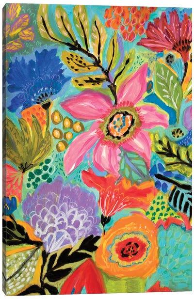 Secret Garden Floral II Canvas Art Print