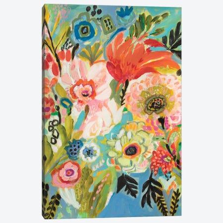 Secret Garden Floral III Canvas Print #KFI23} by Karen Fields Canvas Art Print
