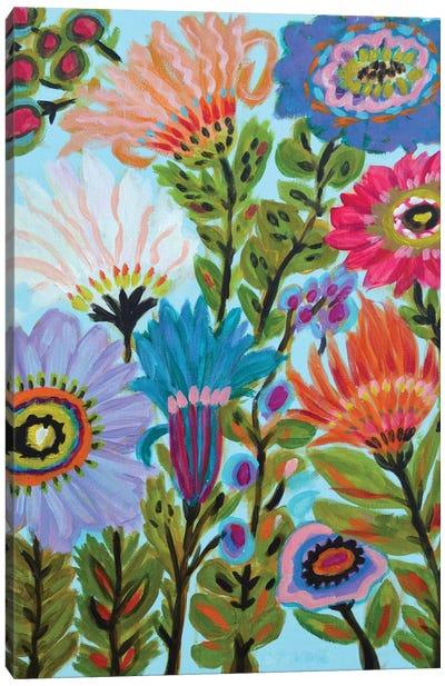 Secret Garden Floral IV Canvas Art Print