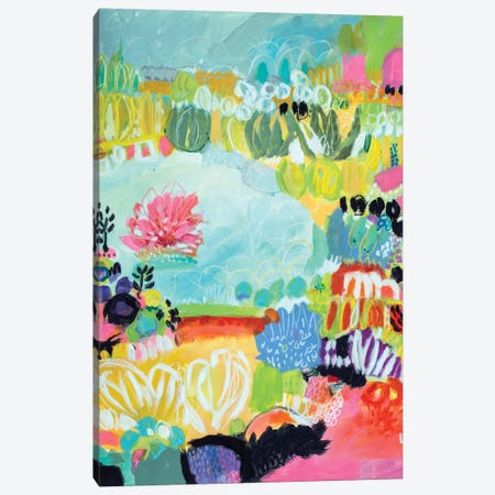 Whimsical Pond II Canvas Print #KFI26} by Karen Fields Canvas Art