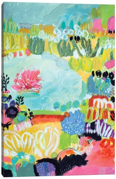 Whimsical Pond II Canvas Art Print