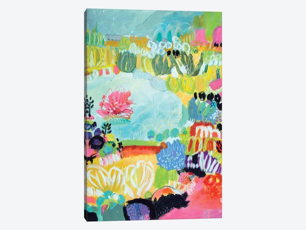 Whimsical Pond II by Karen Fields 1-piece Canvas Artwork
