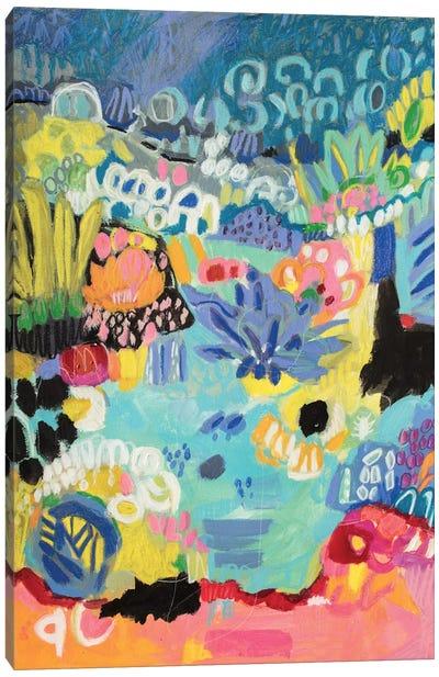 Whimsical Pond III Canvas Print #KFI27