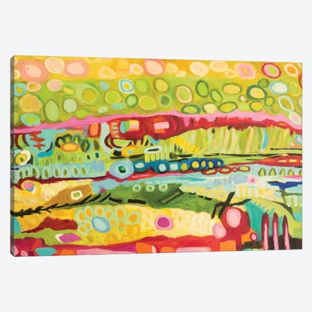 Abstract Bohemian Canvas Print #KFI29} by Karen Fields Art Print
