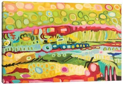 Abstract Bohemian Canvas Art Print