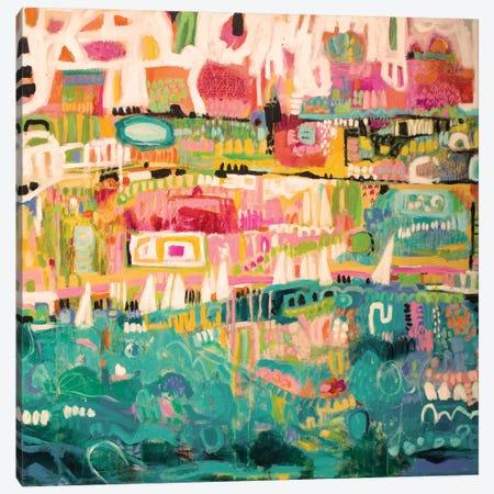 Abstract Marina II Canvas Print #KFI2} by Karen Fields Canvas Art Print
