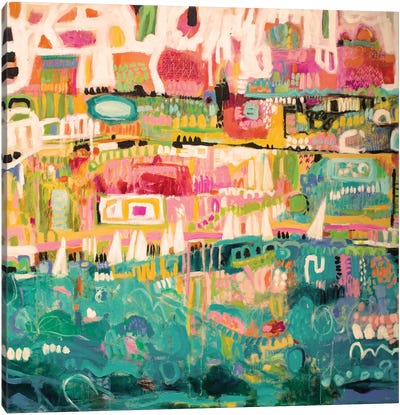 Abstract Marina II Canvas Art Print