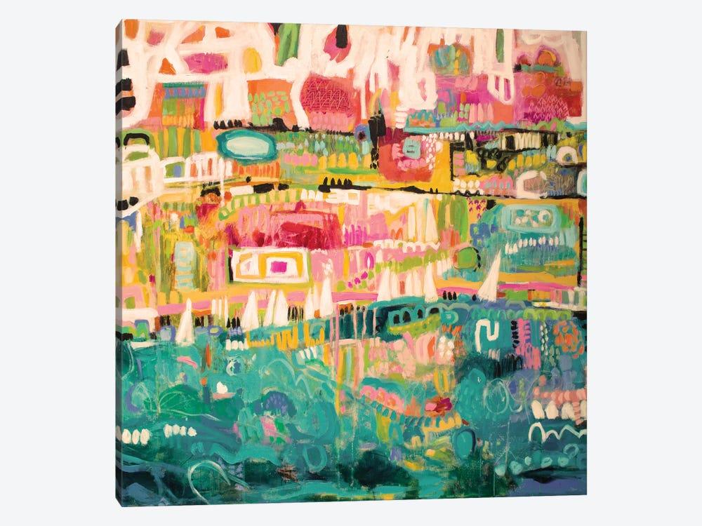 Abstract Marina II by Karen Fields 1-piece Art Print