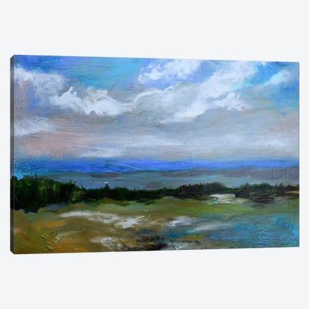 Beach & Sky I Canvas Print #KFI32} by Karen Fields Canvas Art