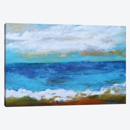 Beach & Sky II Canvas Print #KFI33} by Karen Fields Canvas Wall Art