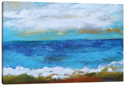 Beach & Sky II Canvas Art Print