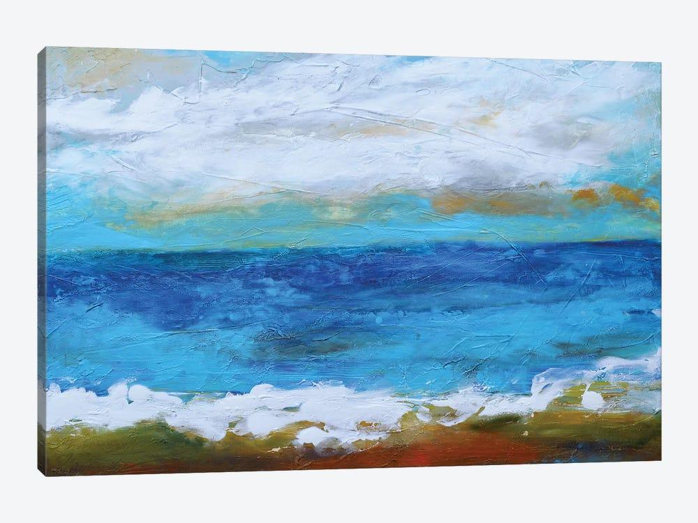 Beach & Sky II by Karen Fields 1-piece Canvas Wall Art