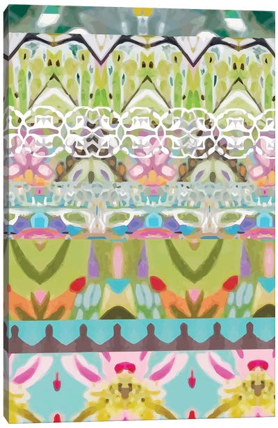 Border Boho I Canvas Art Print