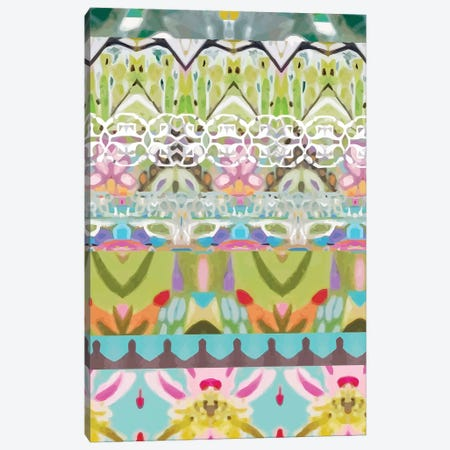 Border Boho I Canvas Print #KFI34} by Karen Fields Art Print
