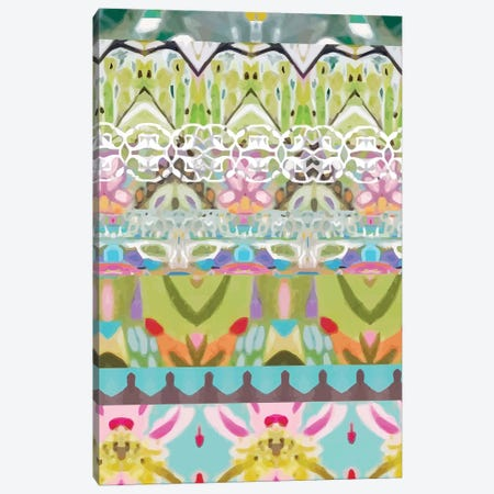 Border Boho II Canvas Print #KFI35} by Karen Fields Canvas Print
