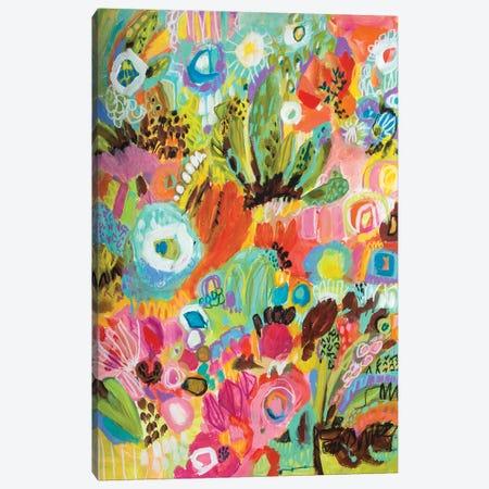 Love to Travel I Canvas Print #KFI38} by Karen Fields Canvas Art