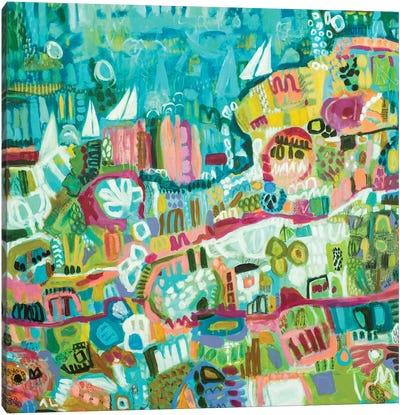 Abstract Marina III Canvas Art Print
