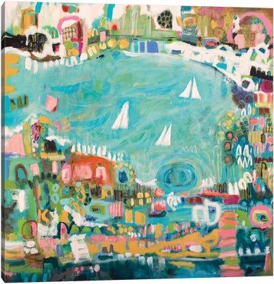 Abstract Marina IV Canvas Art Print