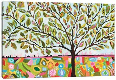 Tree Abstract Canvas Art Print