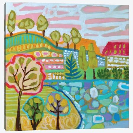 Tree Farm Canvas Print #KFI52} by Karen Fields Canvas Art