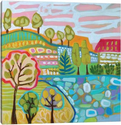 Tree Farm Canvas Art Print